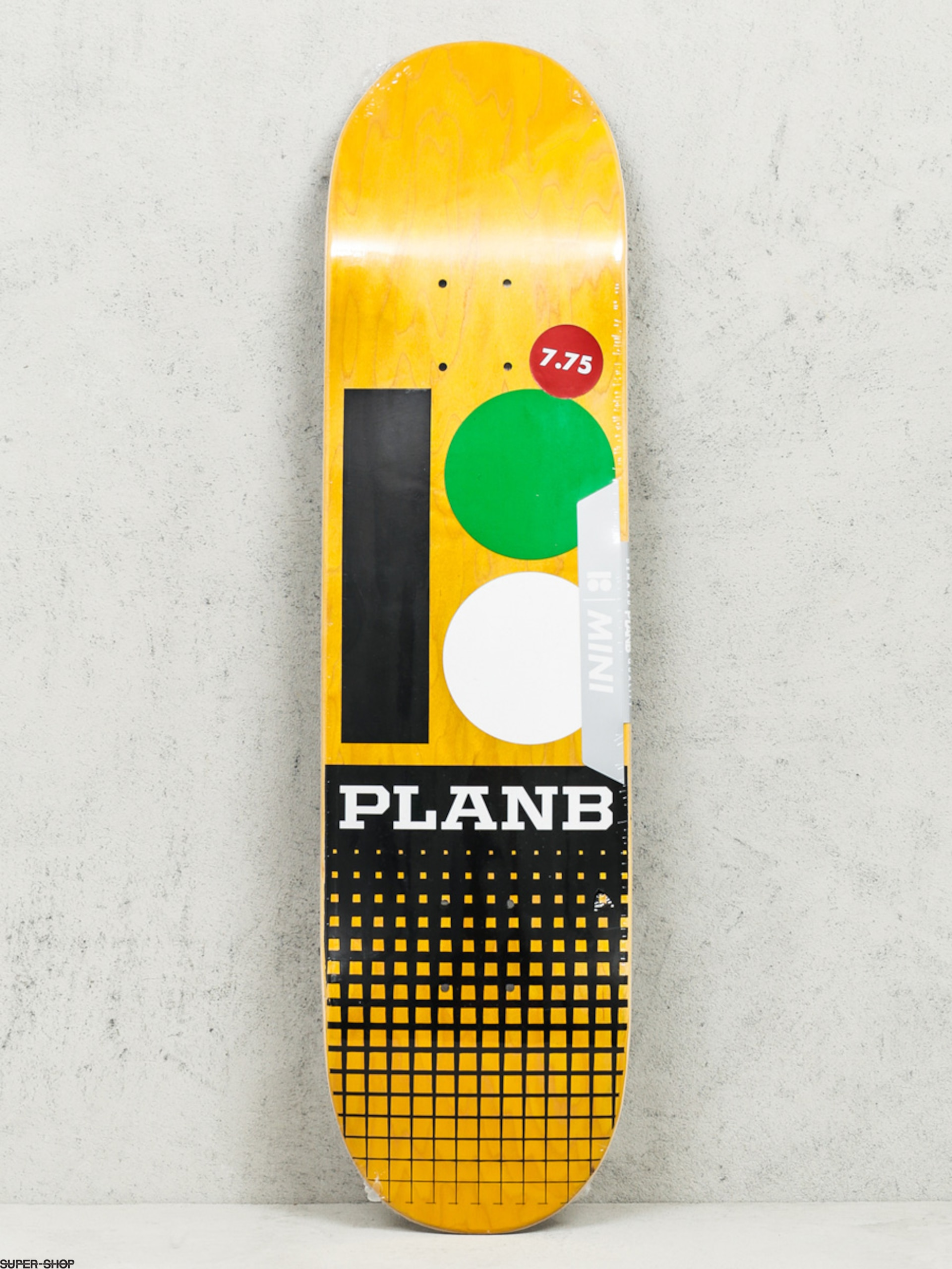 Plan B Deck Team Og Rmx Mini (yellow/black)