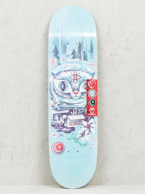 Foundation Deck Spencer Wood Wrai (blue)