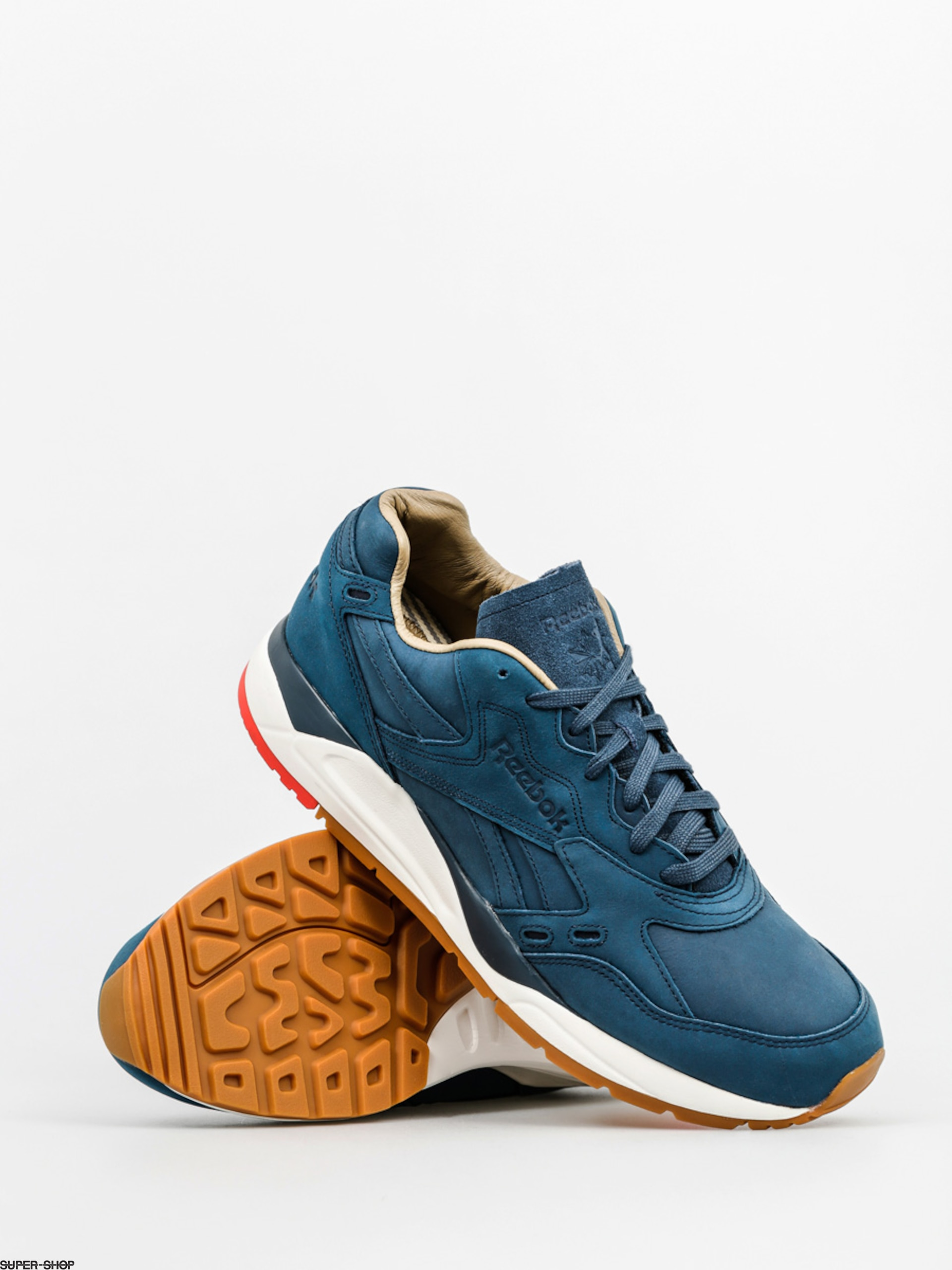 Reebok Shoes Bolton Ww (blue ashes/chalk/riot red)