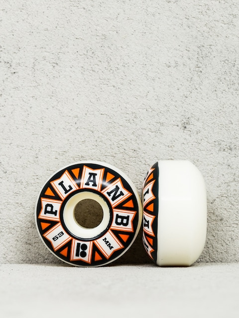 Plan B Wheels Team Flags (black/orange/white)