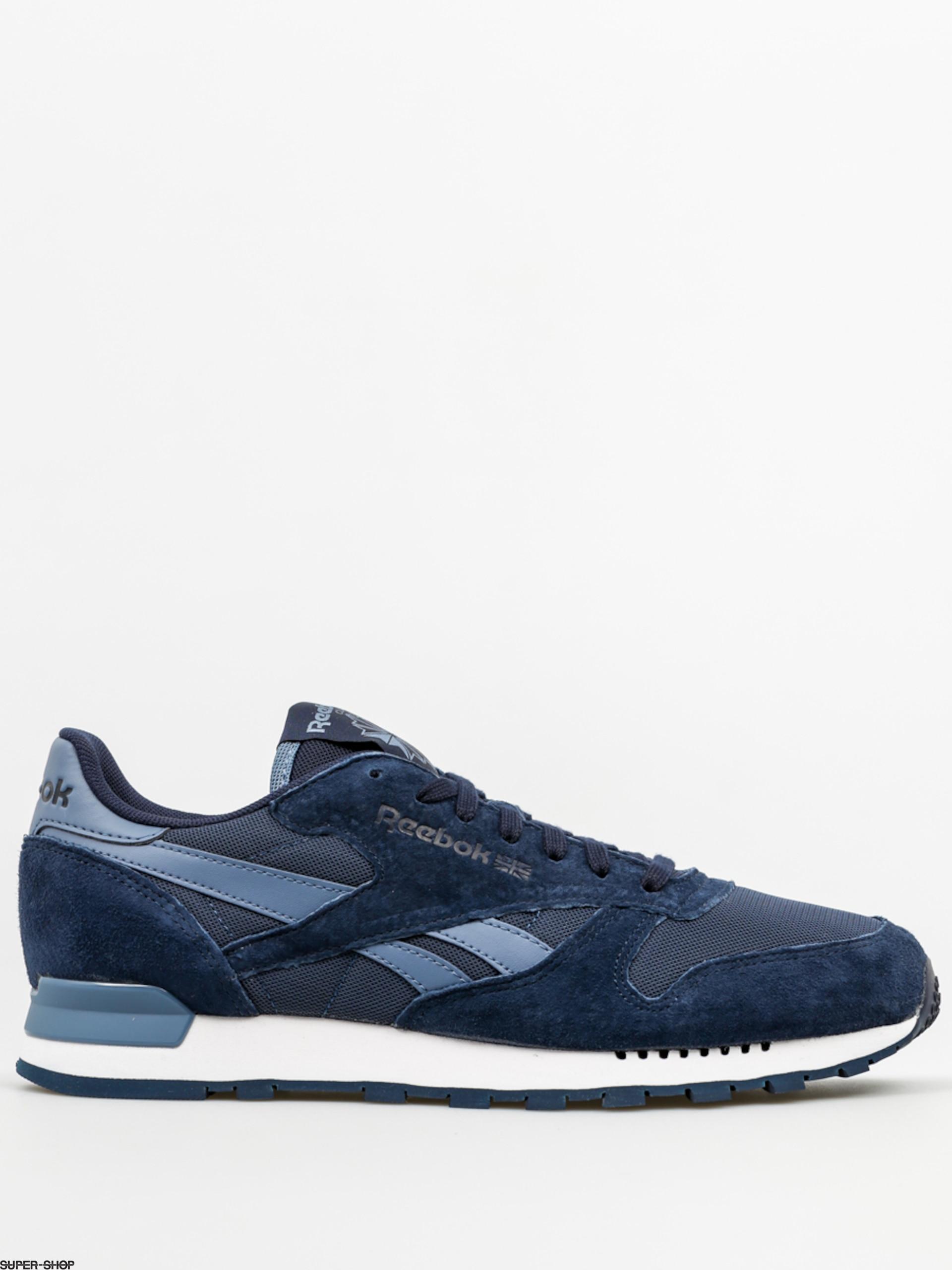 Reebok Shoes Cl Leather Clip Ele (blue peaknavyblue slate)