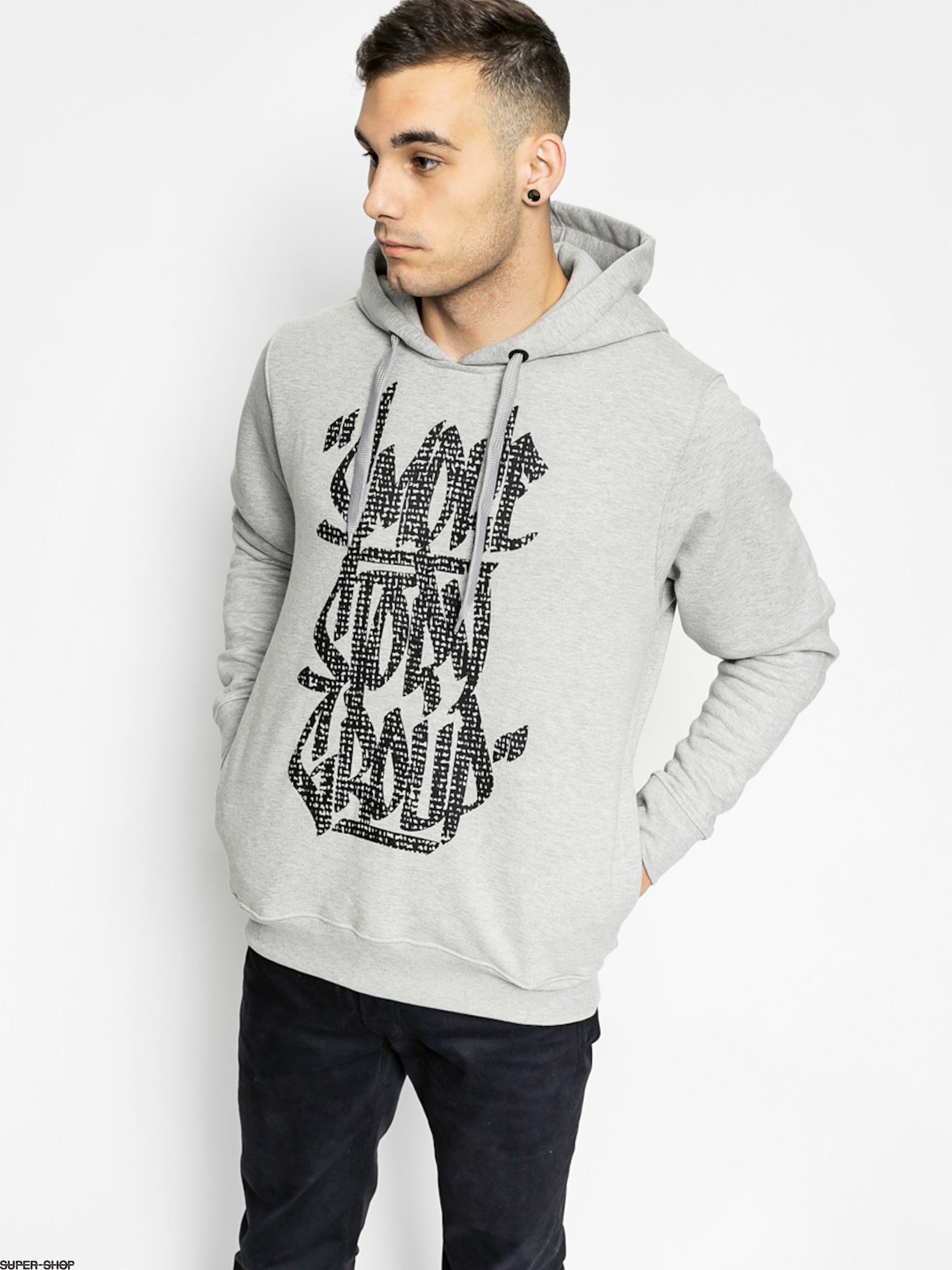 Kod kuponu wiele stylów nowy autentyczny SSG Hoodie Smokestory Tag HD (grey)