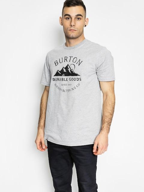 Burton T-shirt Overlook Slim (gray heather)