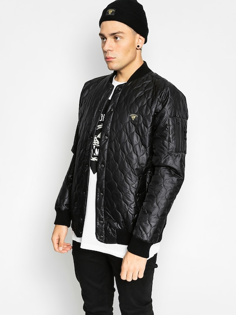 Turbokolor Jacket Varsity (ouilted black)