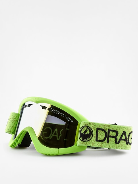 Dragon Goggle DXS (green/smoke gold ion)