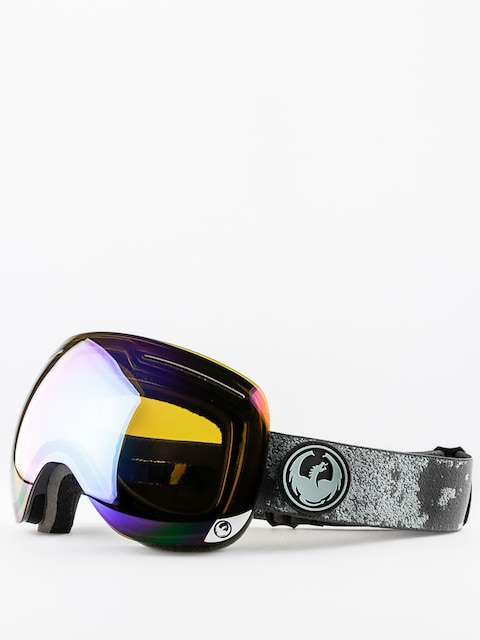 Dragon Goggles X1 (mason grey/flash green polarized)