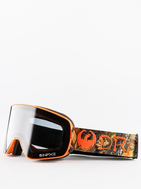 Dragon Goggle NFX2 (danny davis signature/dark smoke/yellow red ion)