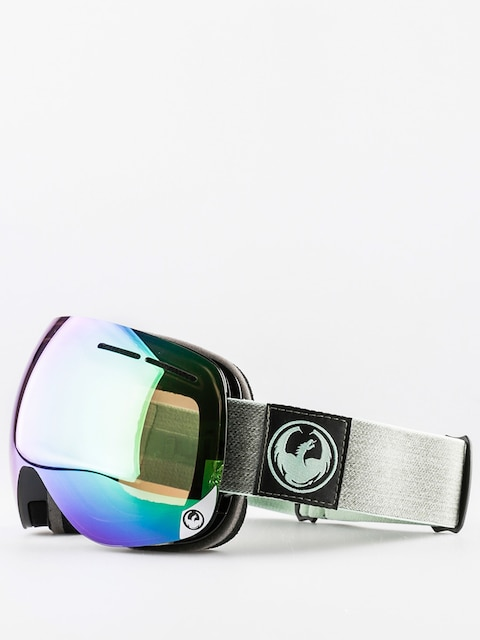Dragon Goggle X1s (hone emerald optimized flash green/optimized flash blue)