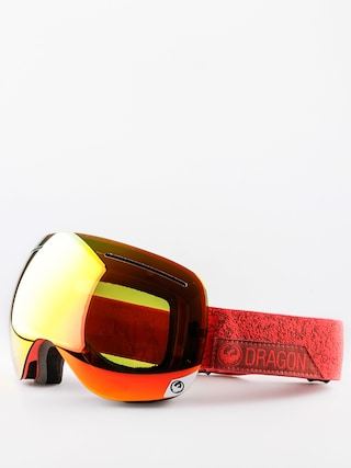 Dragon Goggles X1 (stone red/red ion/yellow red ion)