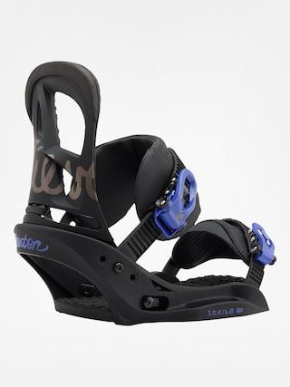 Burton Snowboard bindings Scribe Est Wmn (black/lavender)