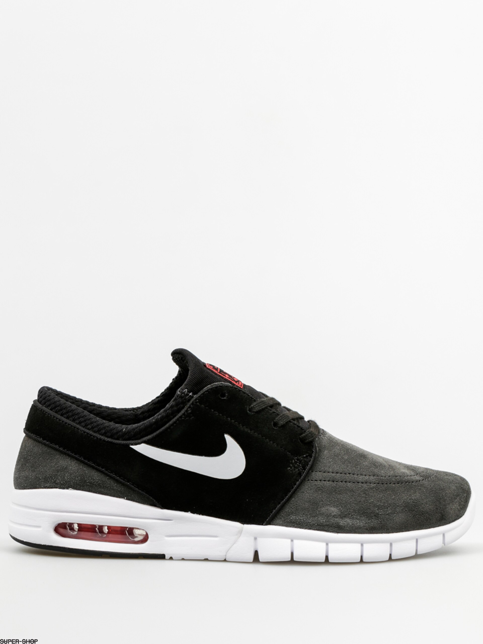 reputable site 517c8 d8c1b Nike SB Shoes Stefan Janoski Max L (anthracite pure platinum black)