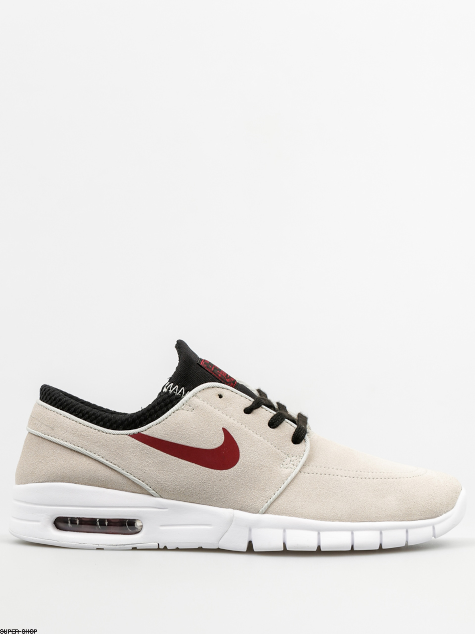 pretty nice e391f 644d4 Nike SB Shoes Stefan Janoski Max L (light bone team red black wht)