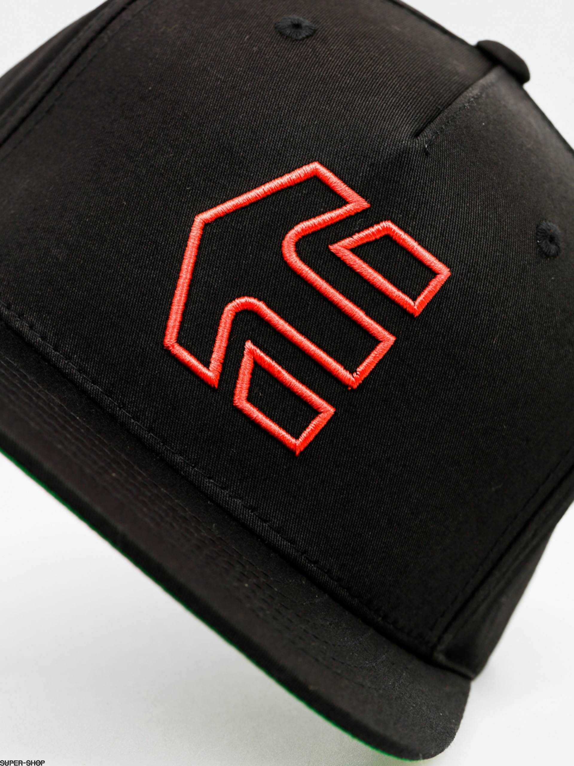 15ea7b7a1 Etnies Cap Icon 7 Snapback Hat ZD (black/red)