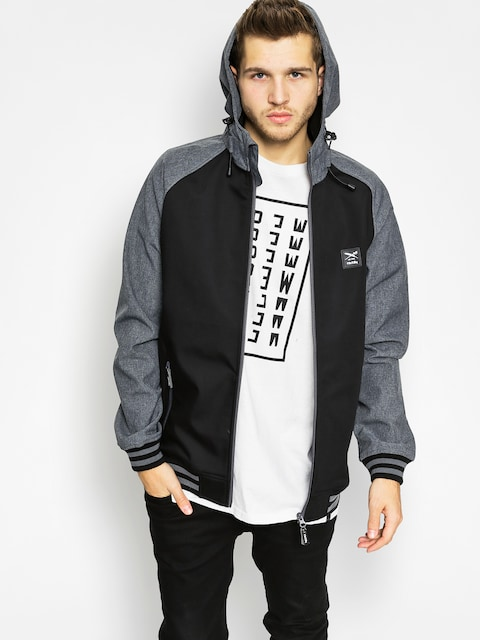 Iriedaily Jacket Fusion College (black)