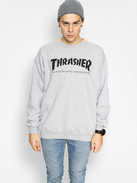 Thrasher Sweatshirt Skate Mag (grey)
