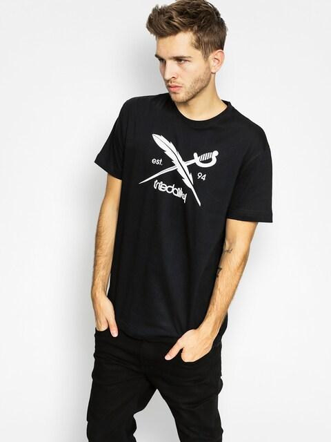 Iriedaily T-Shirt Daily Flag (black)