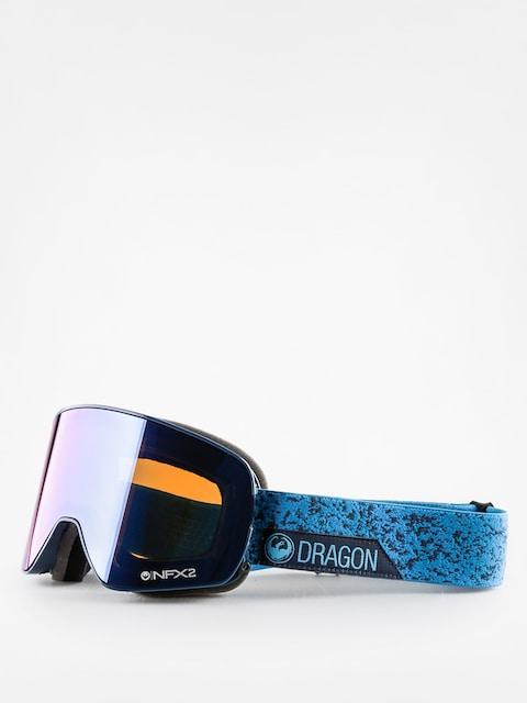 Dragon Goggle NFX2 (stone blue/blue steel yellow red ion)