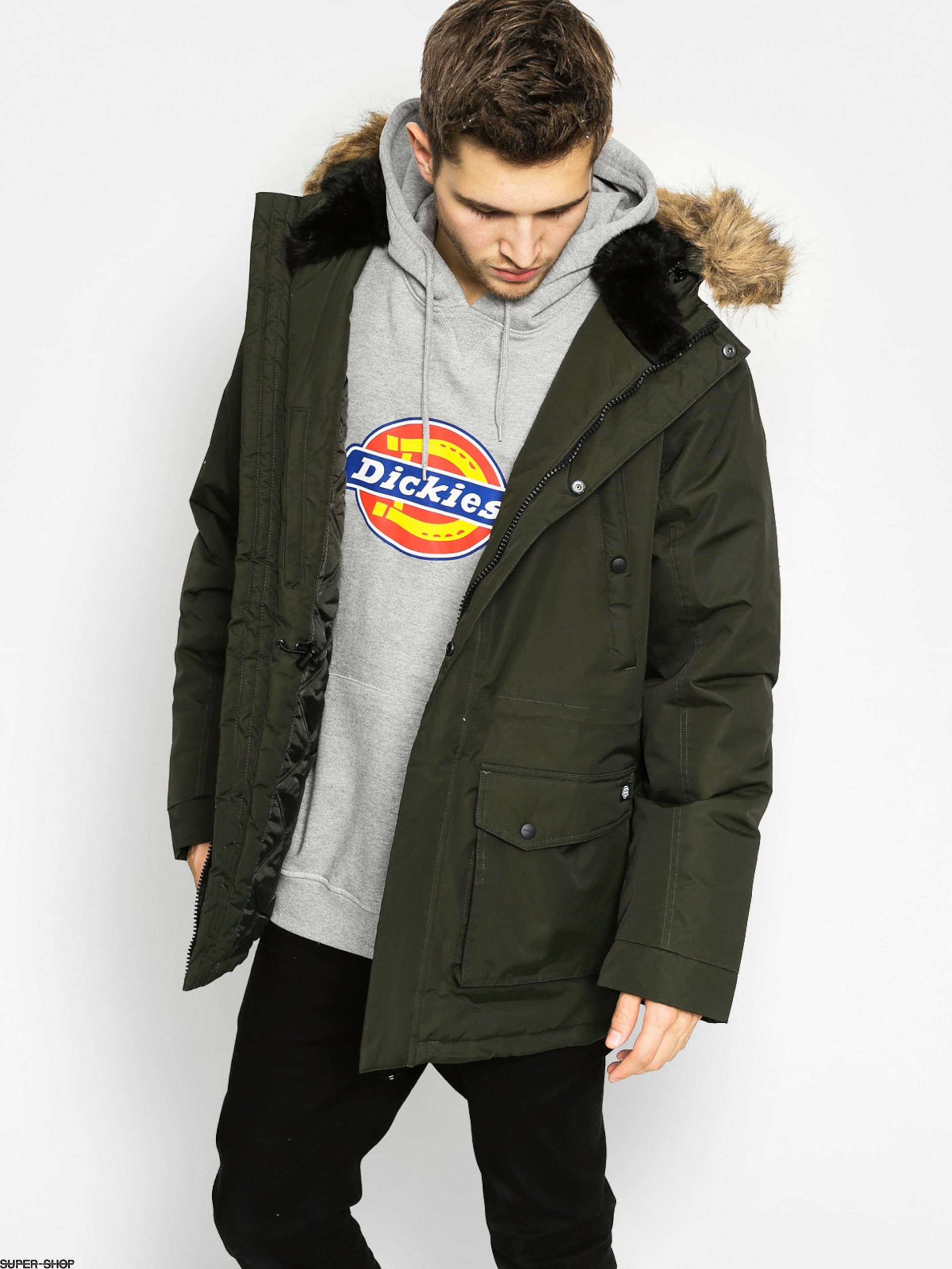 Dickies Winterjacke Curtis (olive green)