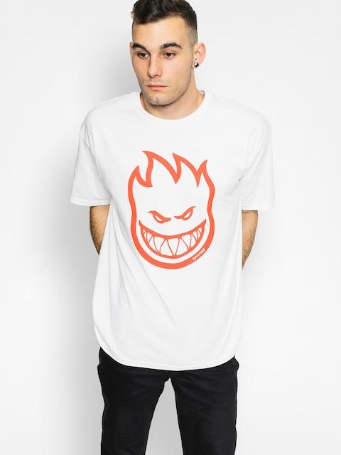 Spitfire T-shirt Bighead (white/red)
