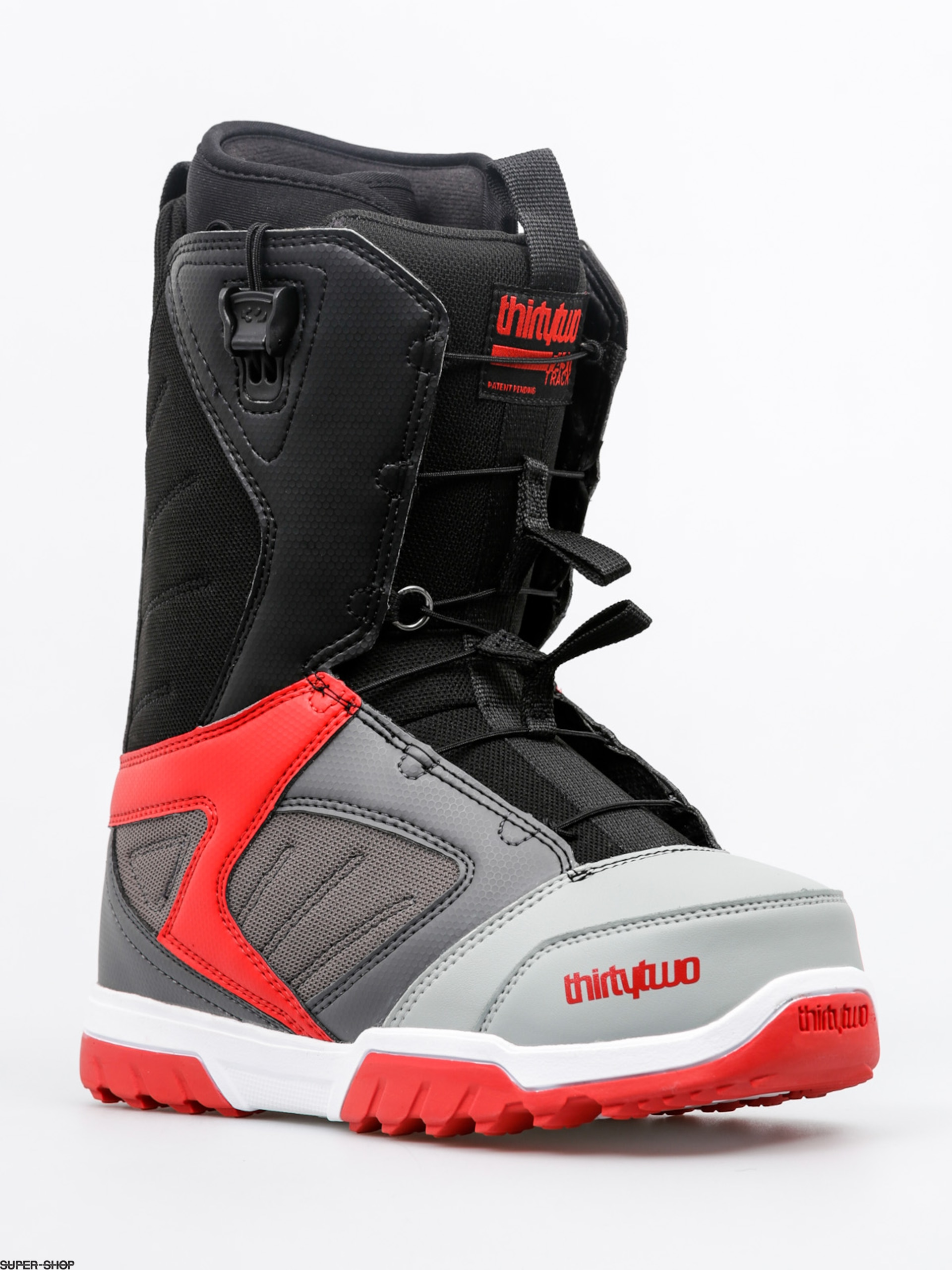 ThirtyTwo Snowboard boots Groomer FT (grey/black/red)