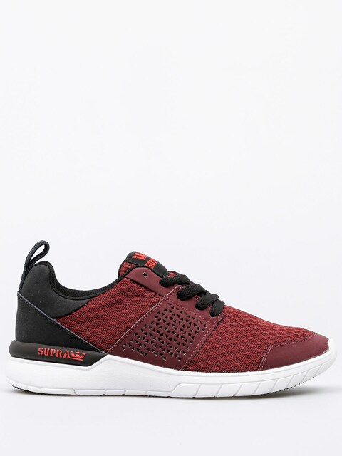 Supra Shoes Scissor (burgundy/black white)