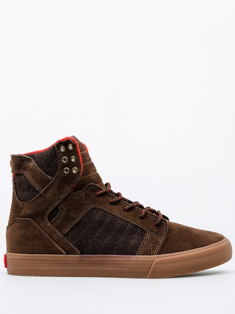 Supra Shoes Skytop (brown gum)