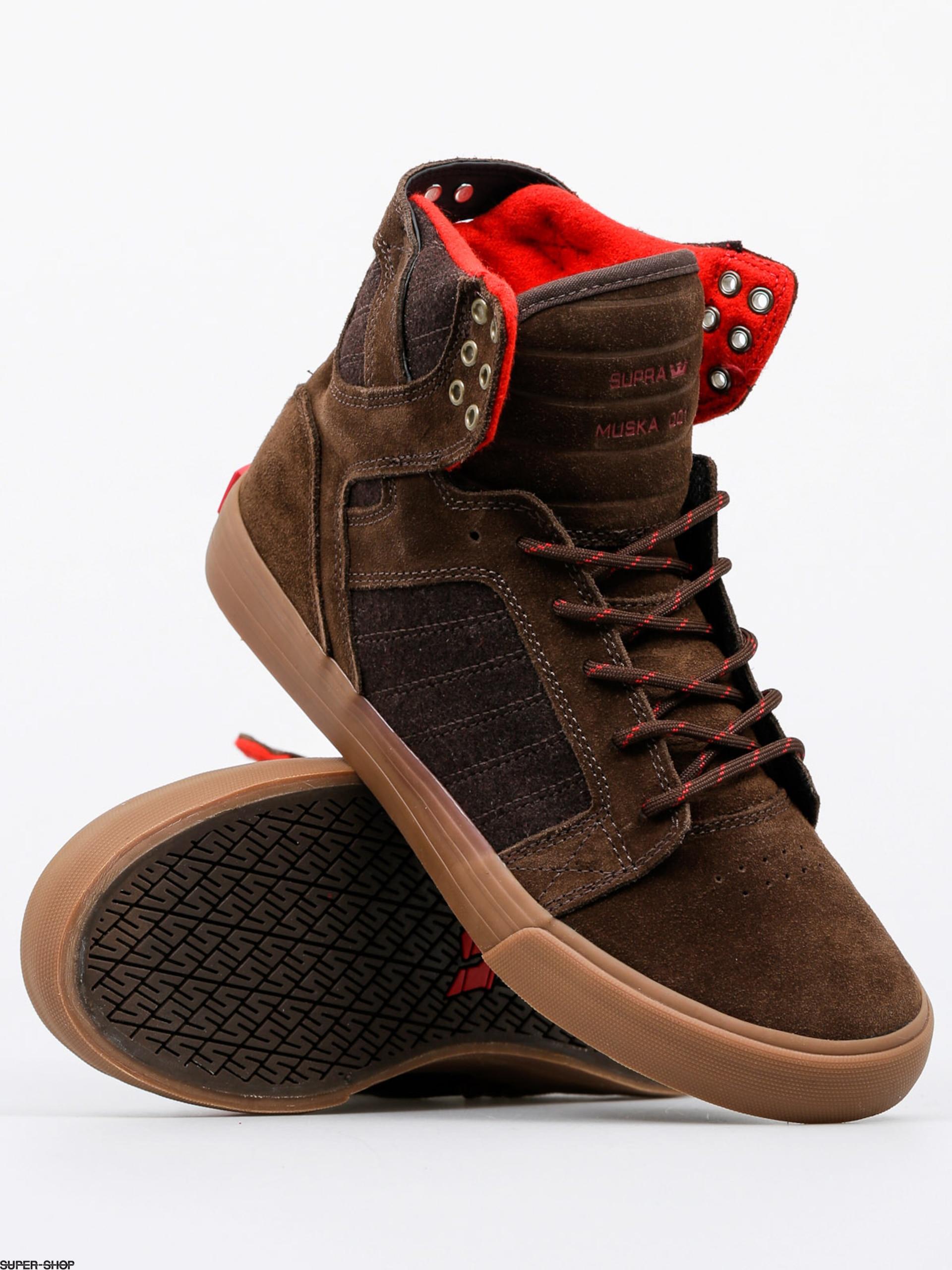 8a25250e27a9 Supra Shoes Skytop (brown gum)