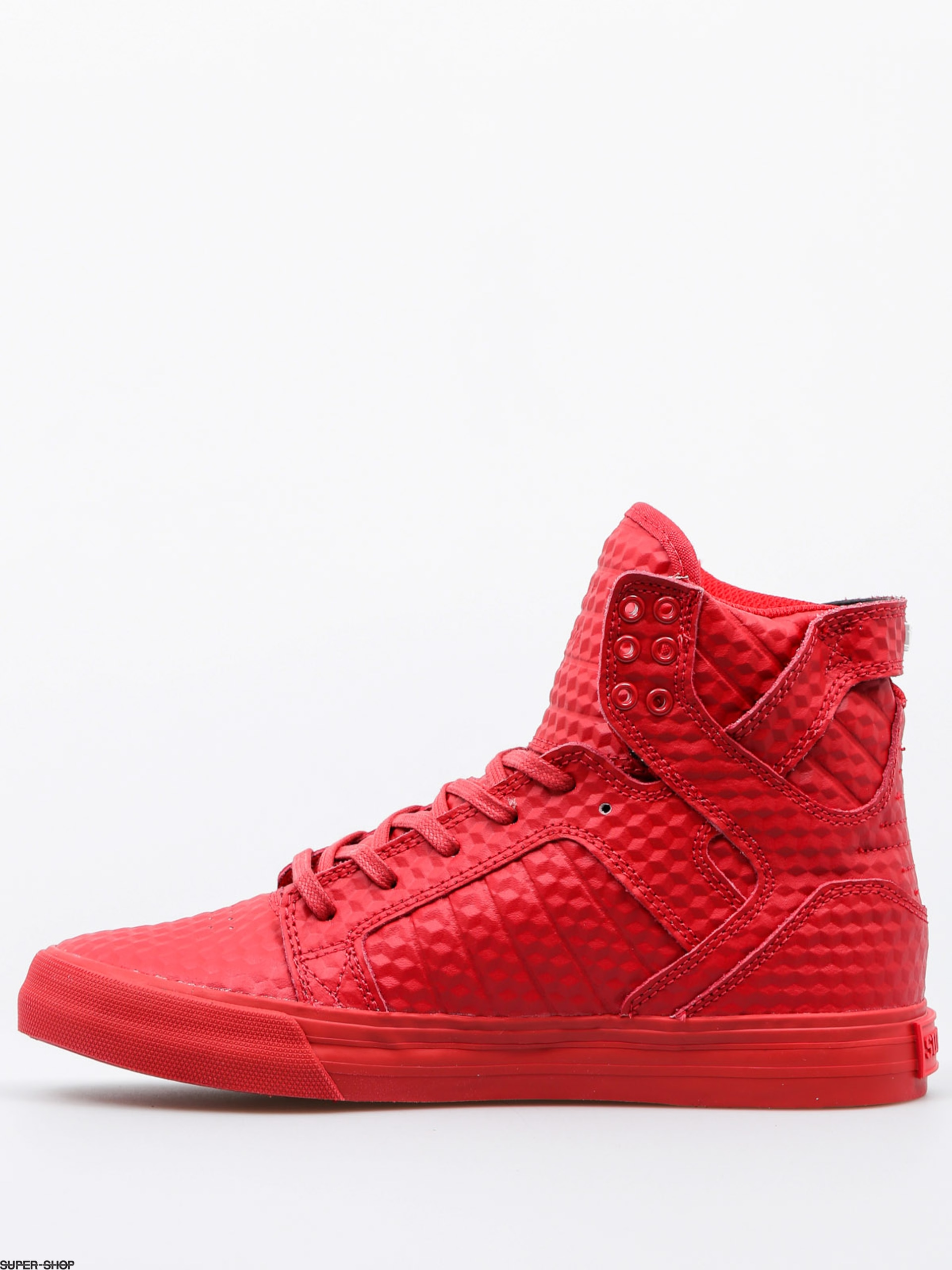 supra shoes skytop redred