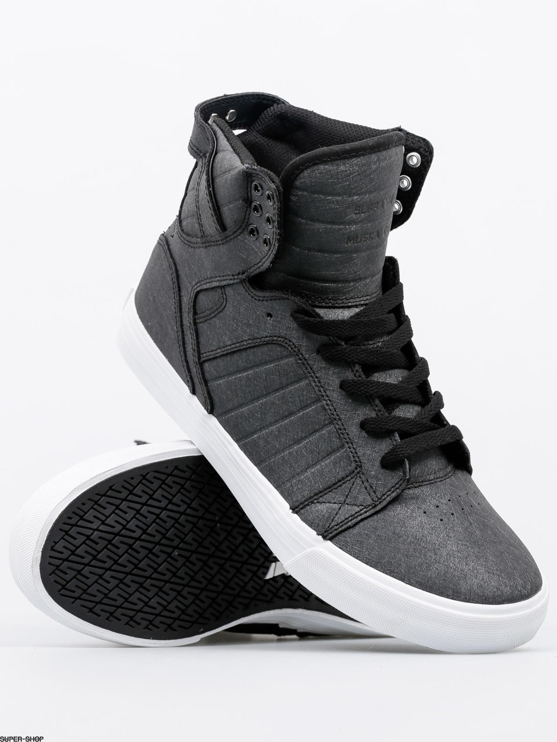 55931a8e009 Supra Shoes Skytop (black fibreglass/white)