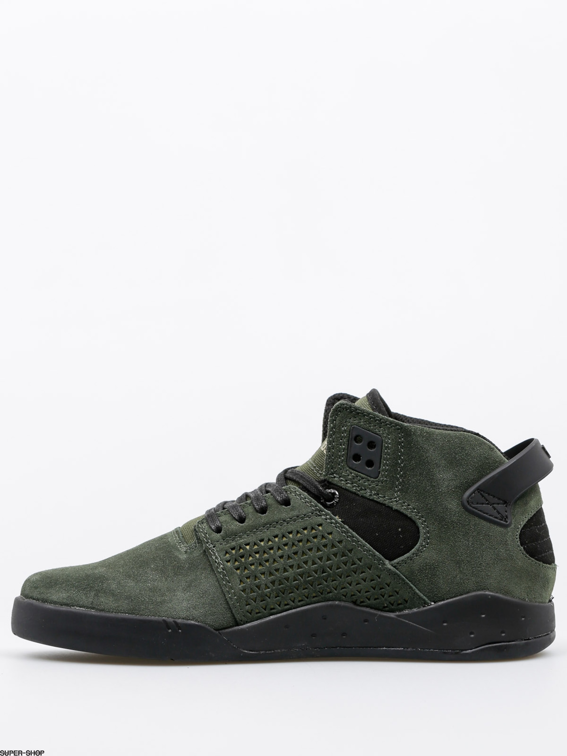 087a7dd21600 Supra Shoes Skytop III (dark olive black black)