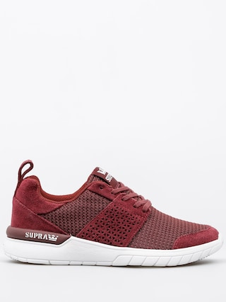 Supra Shoes Scissor Wmn (burgundy/white)