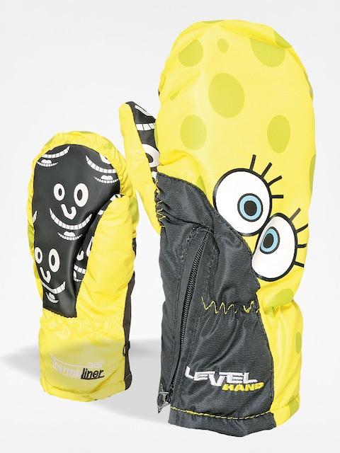 Level Kinder Handschuhe Lucky Mitt (yellow)
