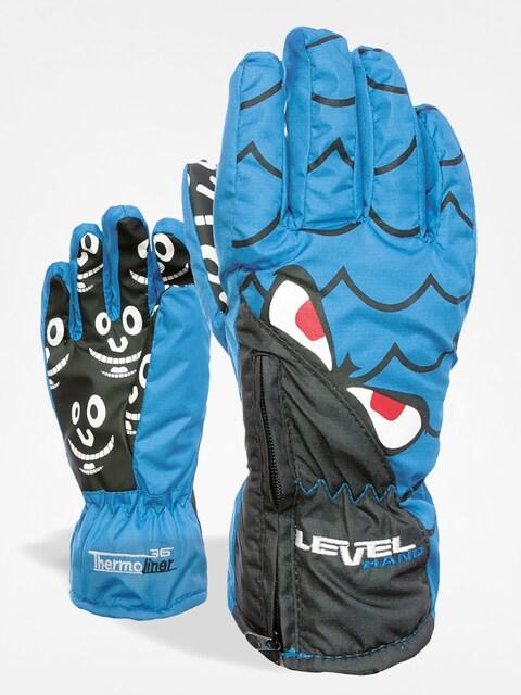 Level Gloves junior Lucky (royal)