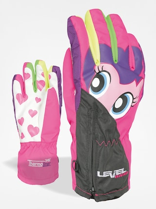 Level Gloves junior Lucky (pk rainbow)