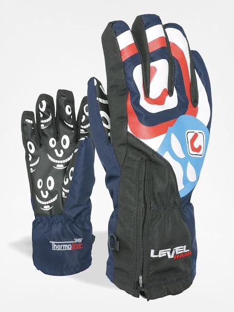 Level Gloves junior Lucky (navy)