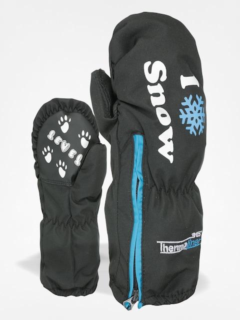 Level Gloves Kiddy Mitt (ninja black)