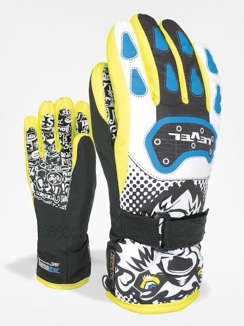 Level Gloves Junior (black/yellow)