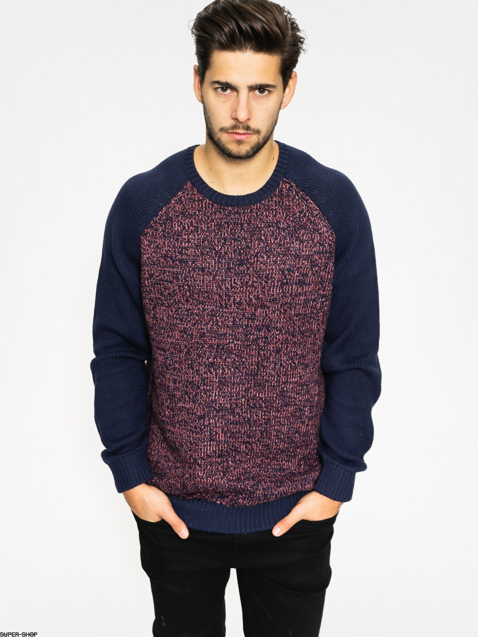 Quiksilver Sweater Time Watch (navy/brown)
