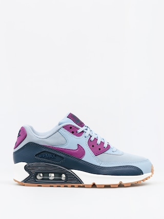 Nike Shoes Air Max 90 Wmn (Essential blue grey/bright grape)