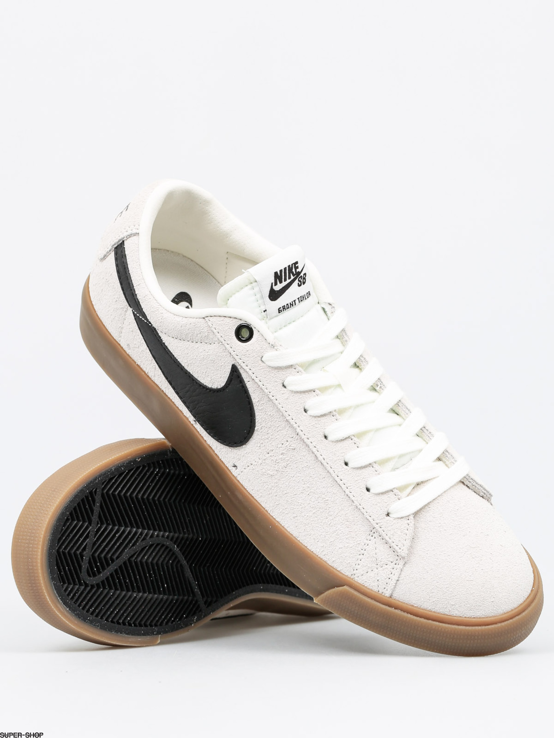 Nike SB Shoes Blazer Low Gt (ivory/black gum light brown)