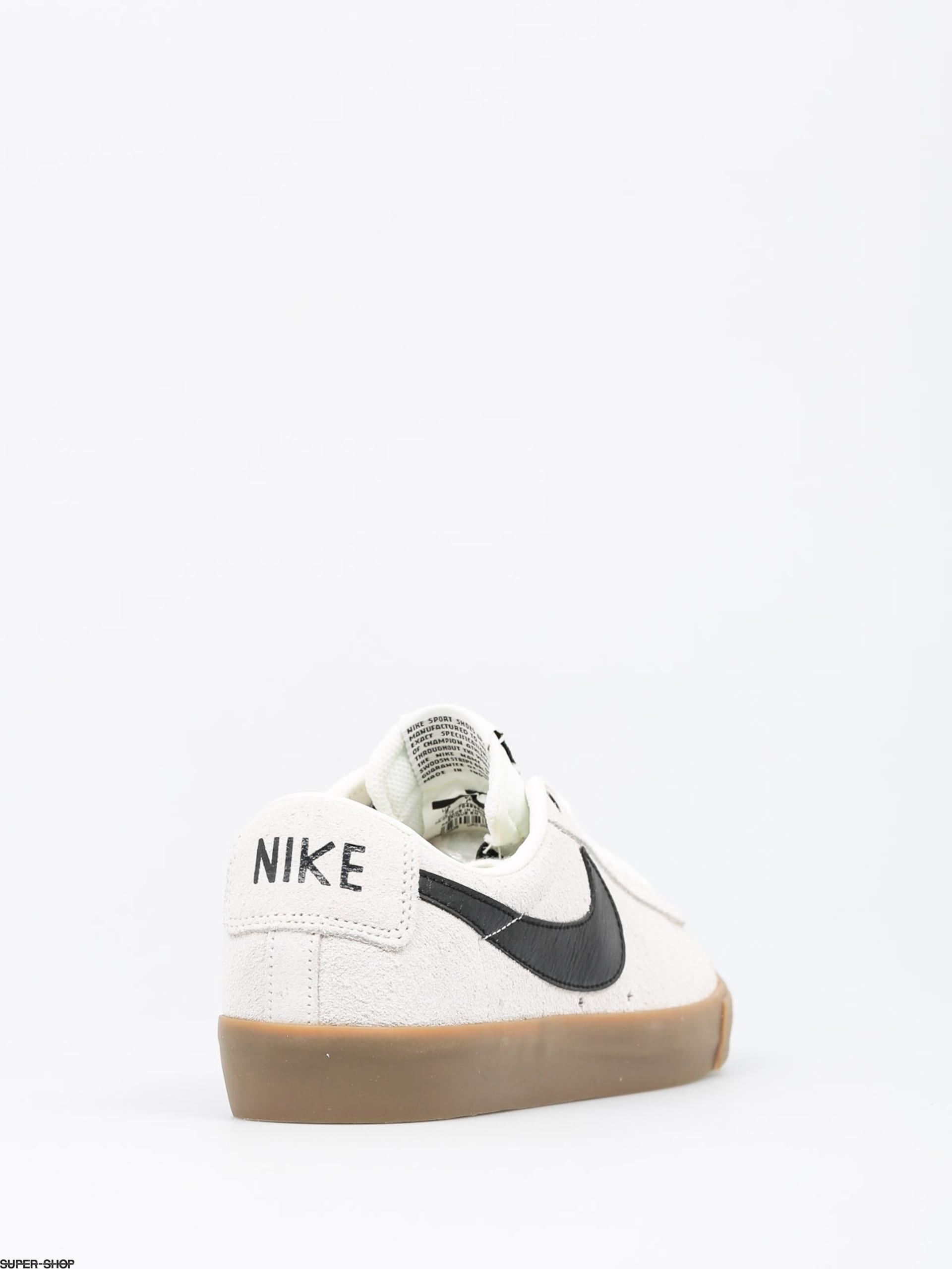 buy popular cb6b7 6d45d Nike SB Shoes Blazer Low Gt (ivory black gum light brown)