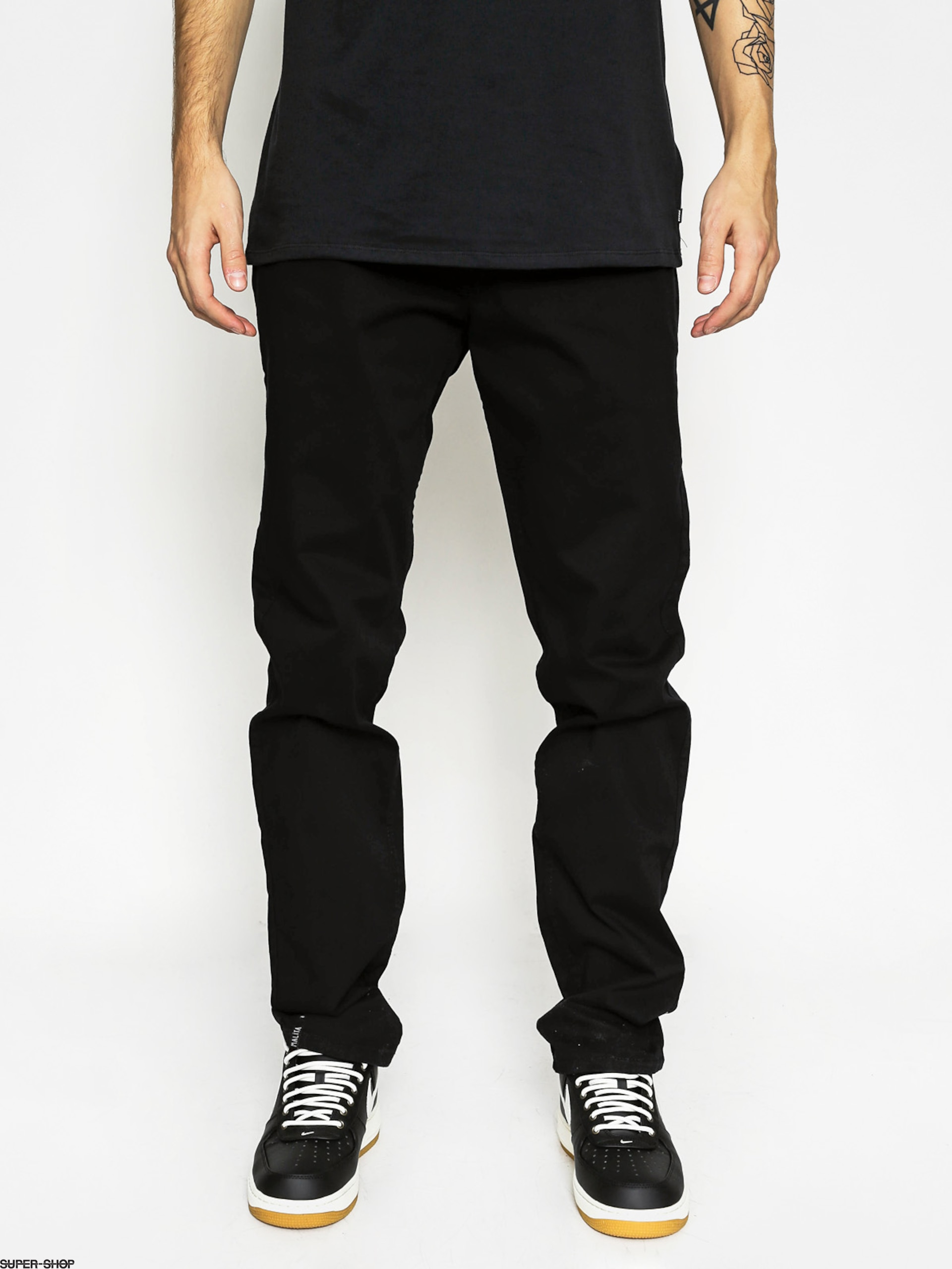 Malita Pants Chino (black/camo)