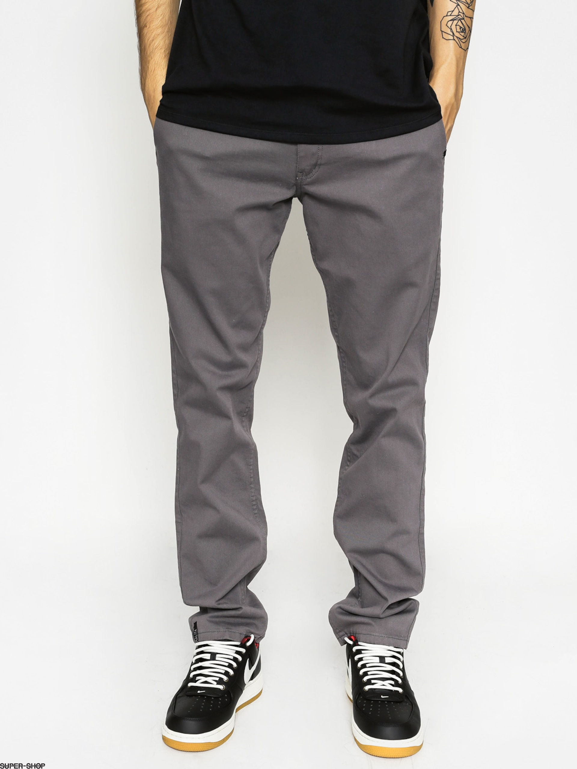 Malita Pants Chino (grey/camo)