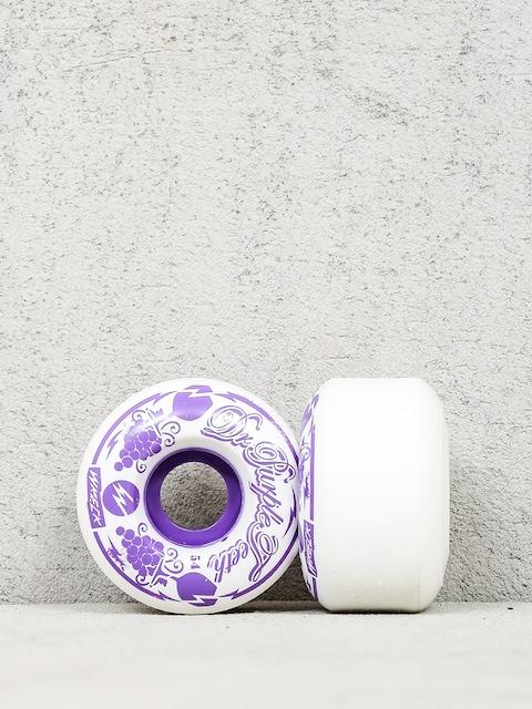 Wreck Wheels Dr Purpleteeth (white)