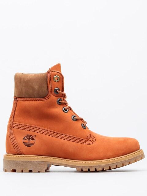 Timberland Winter shoes 6 In Premium Wmn (dark orange)