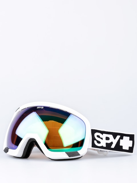 Spy Goggle Platoon (mt white/bronze/green spectra/yellow contact)