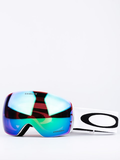 Oakley Goggles Flight Deck (matte white w/prizm jade)