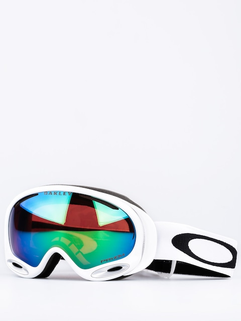 Oakley Goggles Aframe 2.0 Polished (white w/prizm jade)