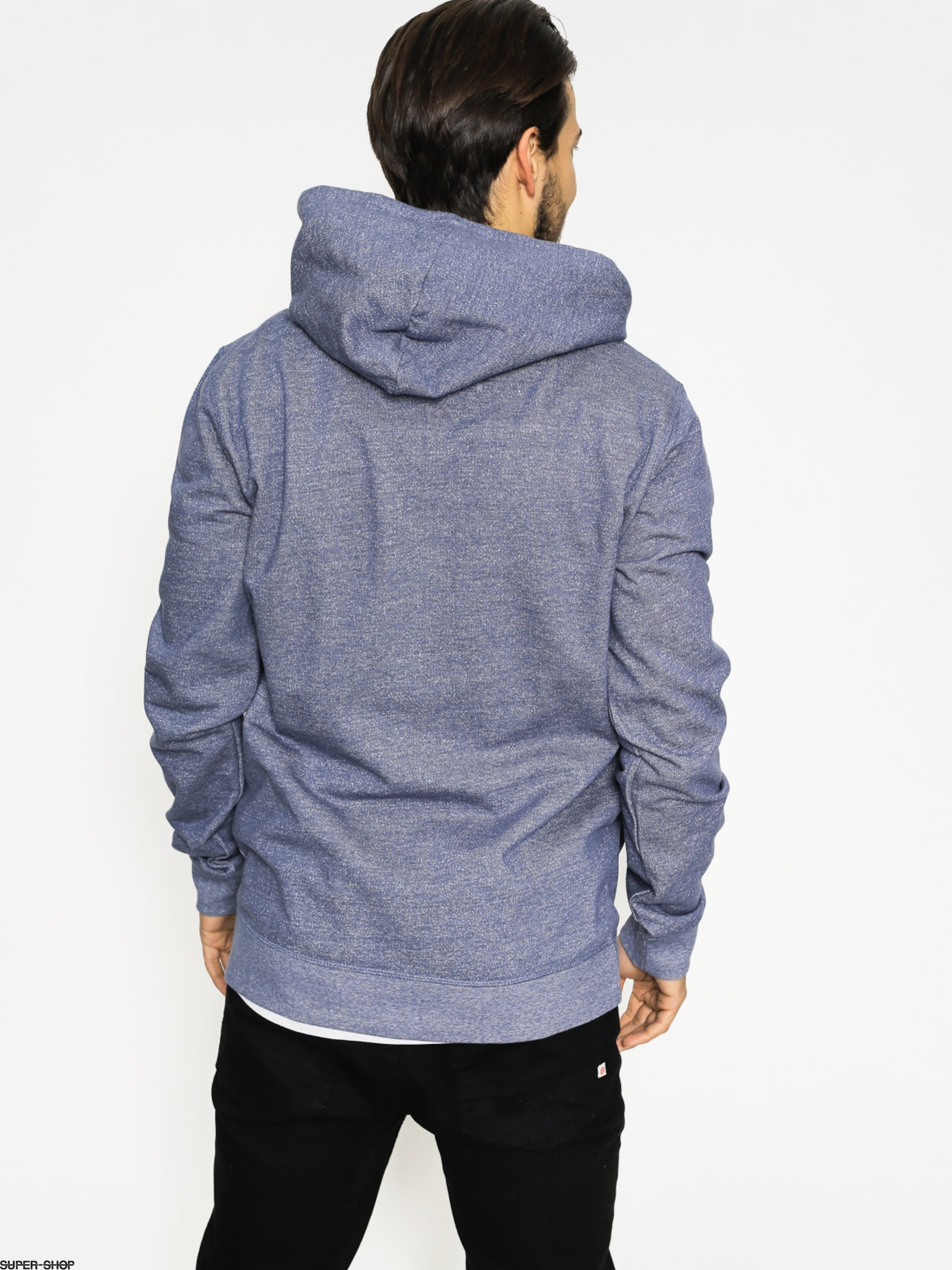 Quiksilver Hoodie Dark Voice ZHD (night shadow blue) a747d53e645