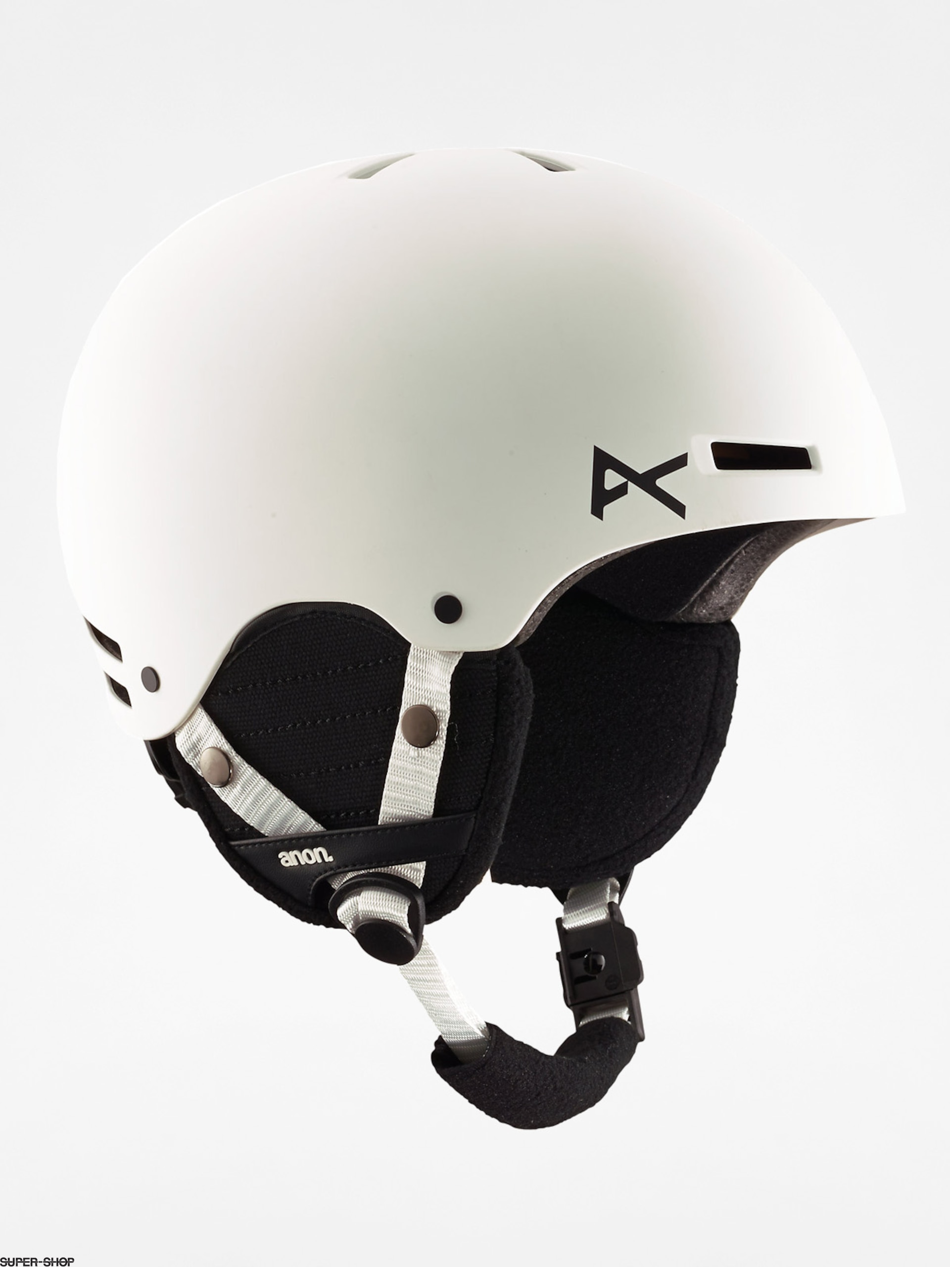 Anon Kinder Helm Rime (white)